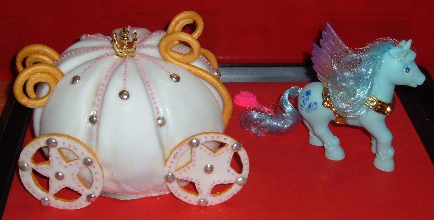 gâteau carrosse de cendrillon